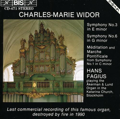 Organ Symphonies 1, 3 & 6 /  Meditation & Marche