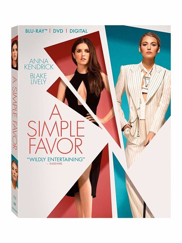 Simple Favor [Blu-ray/DVD]