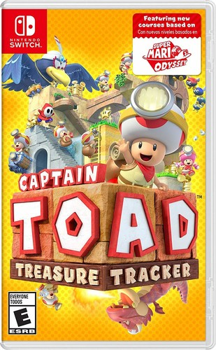 Captian Toad: Treasure Tracker for Nintendo Switch