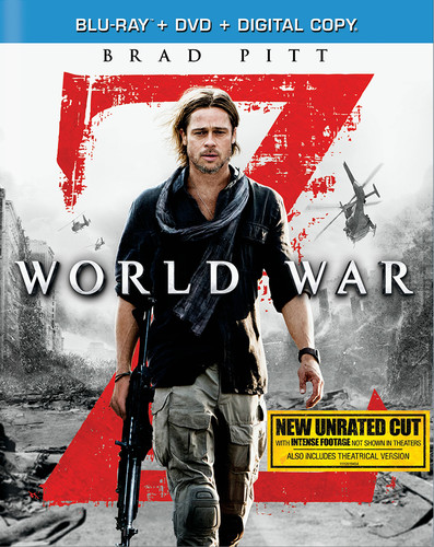 World War Z [Unrated] [2 Discs] [Blu-ray/DVD]