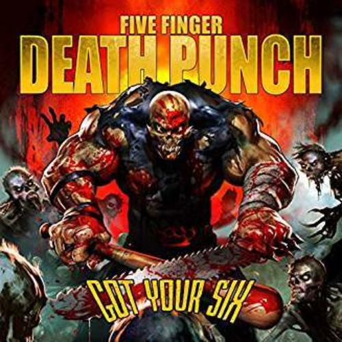 FIVE FINGER DEATH PUNCH-GOT YOUR SIX [Exclusive Red/Black Splatter Vinyl]
