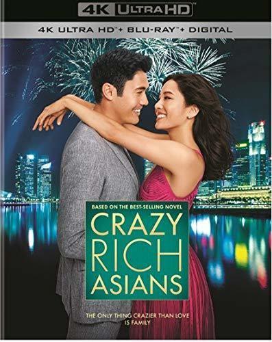 Crazy Rich Asians [4K Ultra HD Blu-ray/Blu-ray]