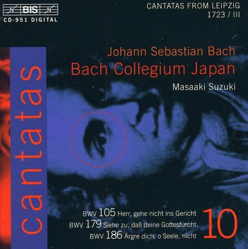 Cantatas X: BWV.179, BWV.105, BWV.186