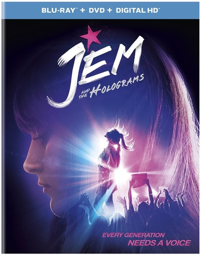 Jem and the Holograms [UltraViolet] [Blu-ray/DVD] [2 Discs]
