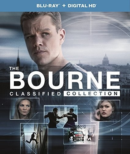 Bourne Classified Collection [UltraViolet] [Blu-ray] [5 Discs]
