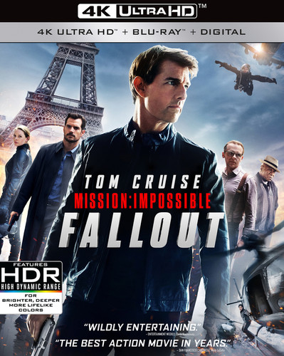 Mission: Impossible - Fallout [4K Ultra HD Blu-rayBlu-ray]