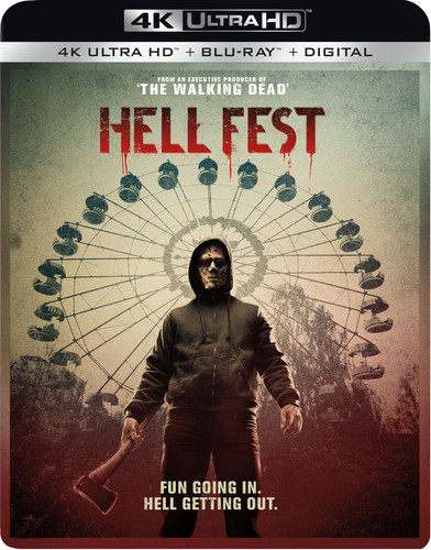 Hell Fest [4K Ultra HD Blu-ray/Blu-ray]