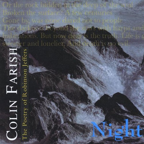 Poetry of Robinson Jeffers: Night