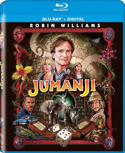 Jumanji [UltraViolet] [Blu-ray]