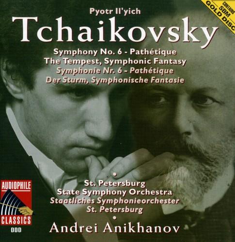 Tchaikovsky: Sym No 6 /  Tempest Sym Fantasy