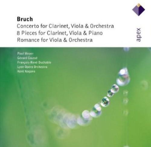 Ctos for Clarinet Viola & Orchestra