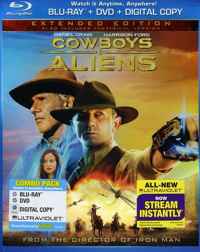 Cowboys & Aliens [Extended Edition] [Rated/Unrated] [2 Discs] [Blu-ray/DVD]