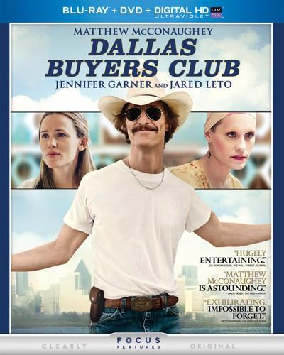Dallas Buyers Club [2 Discs] [UltraViolet] [Blu-ray/DVD]