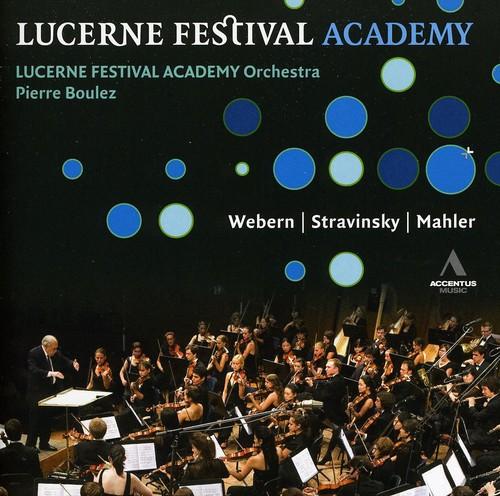 Boulez & Lucerne Festival Academy Orchestra