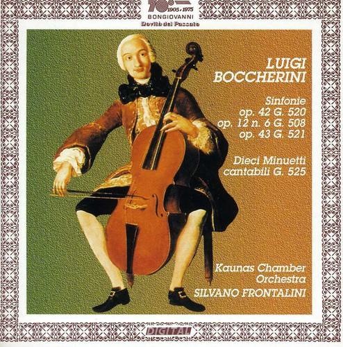 Sinfonia in Re Magg Op 42 G 520