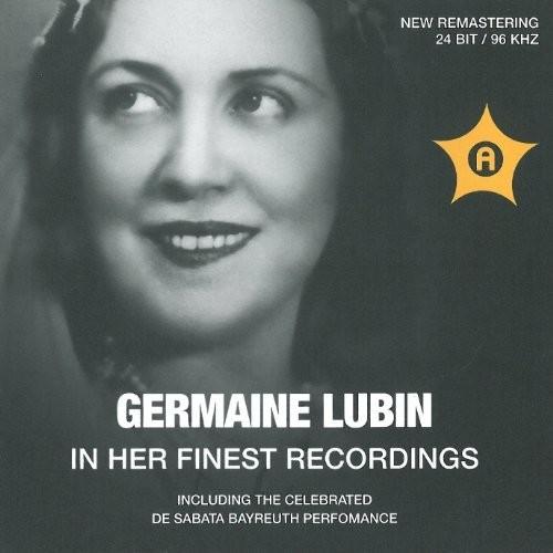 Germaine Lubin-Her Finest