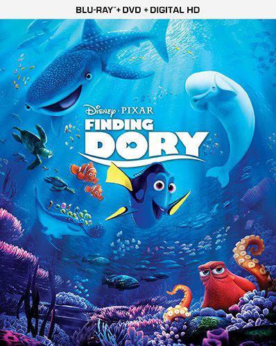 FINDING DORY [BLU-RAY+DVD+DIGITAL HD][3 DISCS]