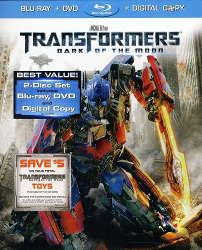 Transformers: Dark of the Moon [2 Discs] [Blu-ray/DVD]