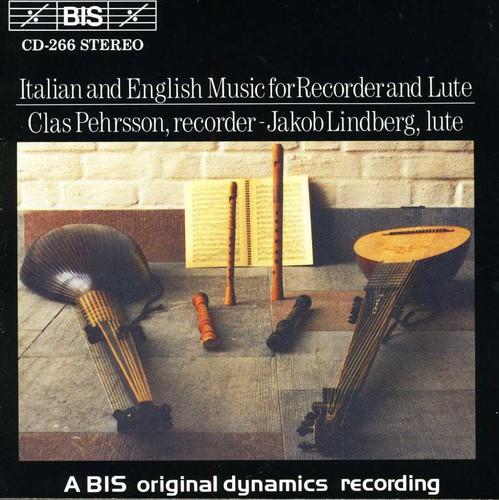 Italian & English Recorder & Lute Music /  Various
