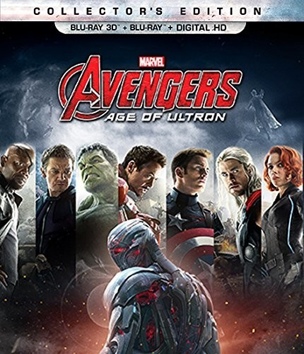 Avengers: Age of Ultron [3D] [Blu-ray]