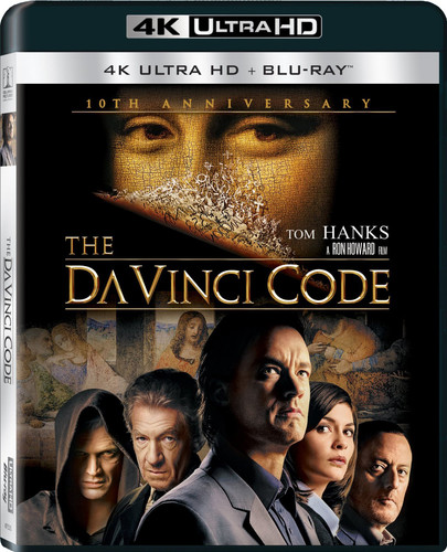 Da Vinci Code [4K Ultra HD Blu-ray/Blu-ray] [UltraViolet]