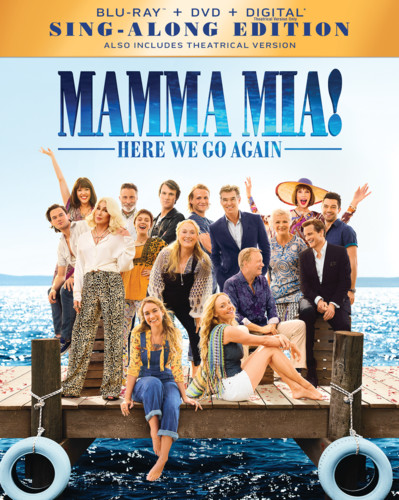 Mamma Mia! Here We Go Again [Blu-ray/DVD]