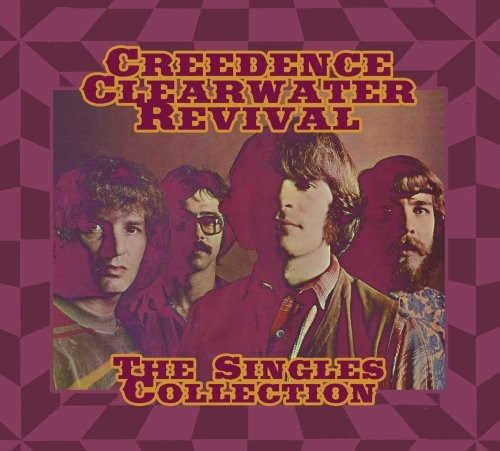 Creedence Clearwater Revival-Singles Collection [2CD+DVD] [Collector's Package With Poster]