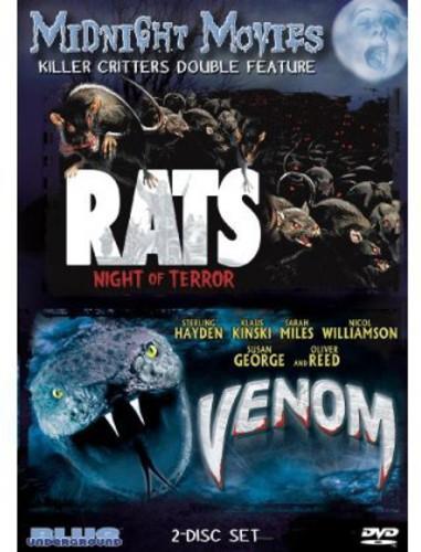 Midnight Movies - Killer Critter Double Feature: Rats Night of Terror /  Venom