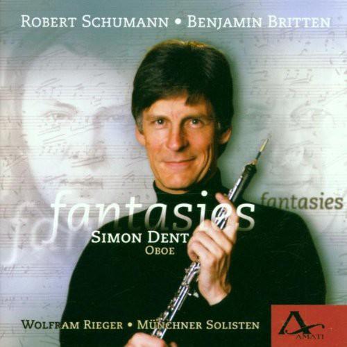 Fantasies: Schumann Britten Hawkins