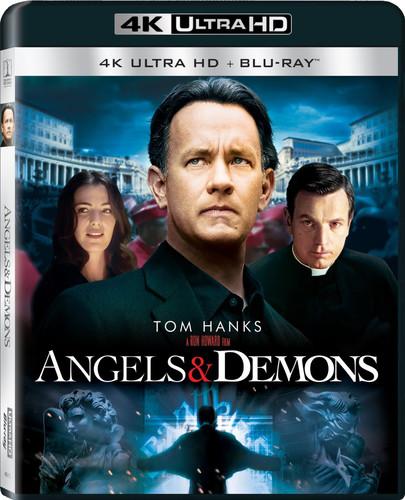 Angels & Demons [4K Ultra HD Blu-ray/Blu-ray] [UltraViolet]