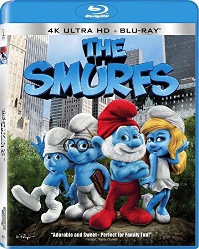 Smurfs [4K Ultra HD Blu-ray] [UltraViolet]
