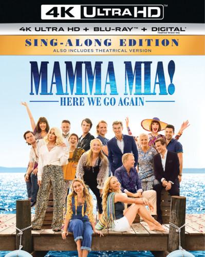 Mamma Mia! Here We Go Again [4K Ultra HD Blu-ray/Blu-ray]