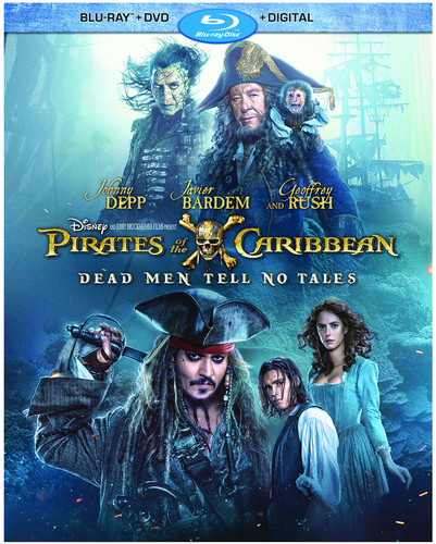 Pirates of the Caribbean: Dead Men Tell No Tales [Blu-ray/DVD]