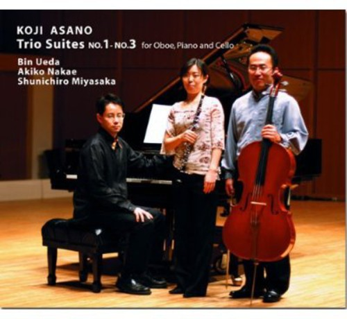 Trio Suites No.1-No.3 for Oboe Piano & Cello