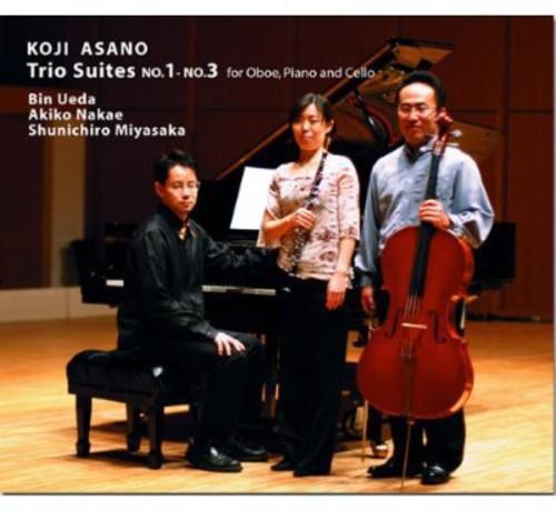 Trio Suites No.1-No.3 for Oboe Piano & Cello