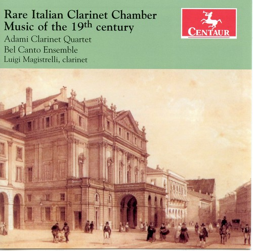 Rare Italian Clarinet Chamber Music of the 19th