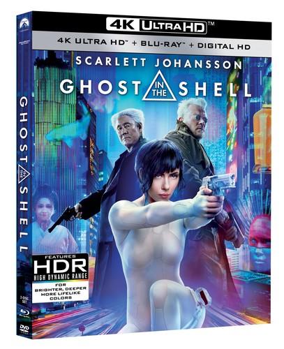 Ghost in the Shell [4K Ultra HD Blu-ray/Blu-ray]