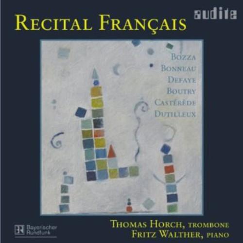 Recital Francais: Music for Trombone & Piano