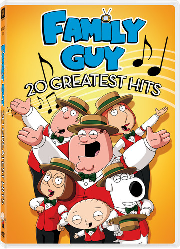 Family Guy 20 Greatest Hits Full Frame Widescreen Dolby On