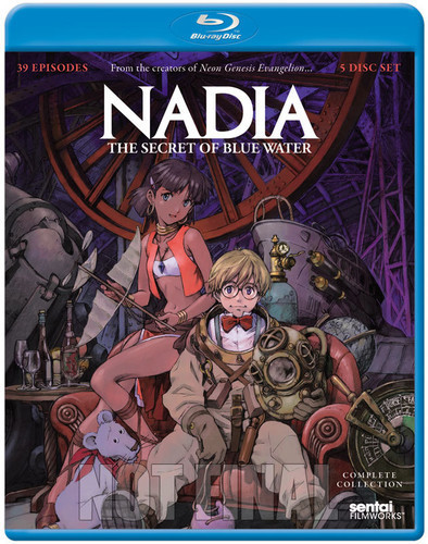 Nadia Secret of Blue Water: Complete