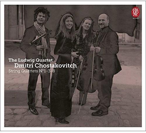 String Quartets 1 3 & 8