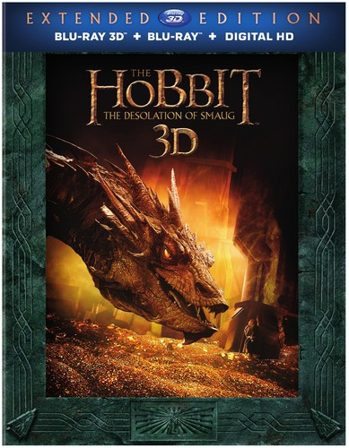 Hobbit: The Desolation of Smaug 3D [UltraViolet] [3D/2D] [Blu-ray]