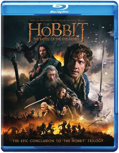 Hobbit: The Battle of the Five Armies [2 Discs] [UltraViolet] [Blu-ray/DVD]
