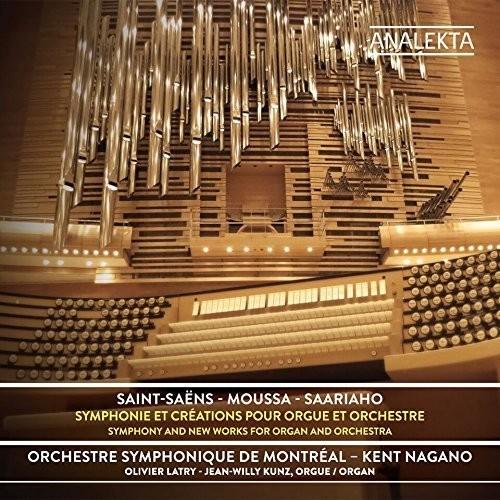 Saint-Saens Moussa - Saariaho: Symphony & New