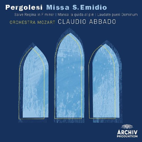 Pergolesi: Messa Di San Emidio /  Salve Regina