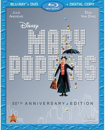 Mary Poppins [50th Anniversary Edition] [2 Discs] [Blu-ray/DVD]