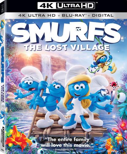 Smurfs: The Lost Village [UltraViolet] [4K Ultra HD Blu-ray] [2 Discs]