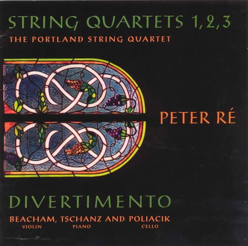 String Quartets 1-3 & Divertimento