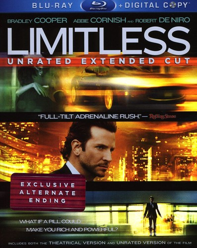Limitless [Unrated] [2 Discs] [Blu-ray]