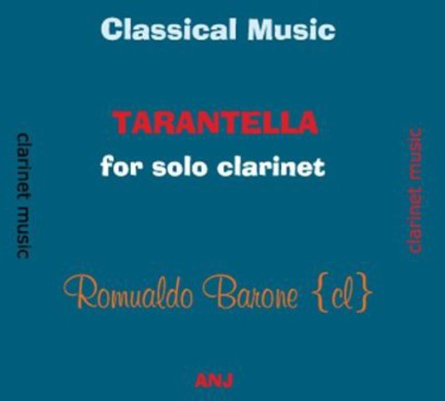Classical Music Tarantella for Solo Clarinet
